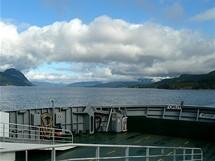 Trajekt přes Boknafjord