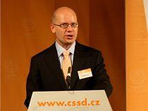 Místopředseda ČSSD Bohuslav Sobotka vystoupil v úvodu Programové konference a 3. mimořádného zasedání ÚVV ČSSD v Olomouci.