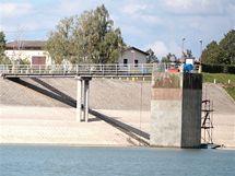 Upuštěná přehrada Rozkoš