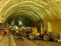 Cholupický tunel - Hydroizolační fólie
