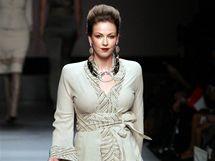 Módní dům Elena Miro přestavil v Milánu módu pro boubelky