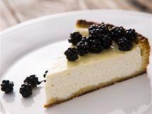 Torta di ricotta, tedy dort s italskou ricottou a lesním ovocem