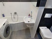 Nová koupelna a WC