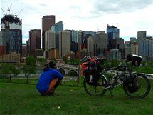 Pavel Kadlíček v kanadském Calgary, jehož aglomerace má více než milion obyvatel.