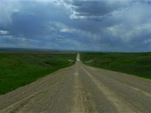 Fotografie z kanadské provincie Manitoba.
