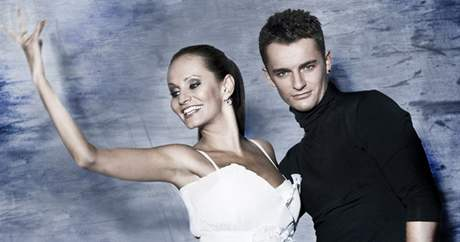 Monika Absolonová a Václav Masaryk