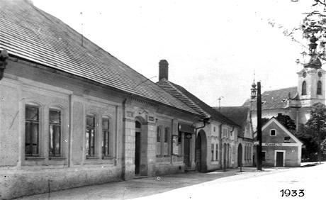 Hospoda Na Staré v roce 1933