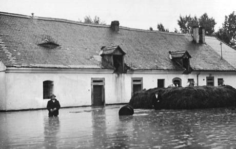 Hospoda bývala často zaplavená