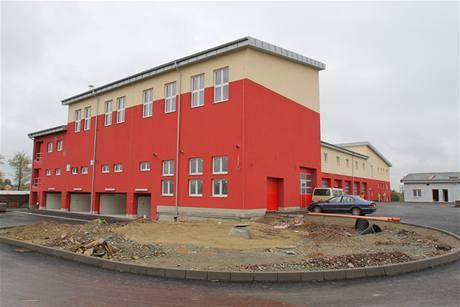 Nová hasičárna v Rychnově nad Kněžnou