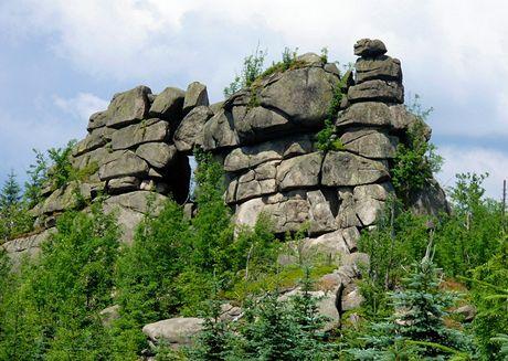 Jizerské hory, Pytlácké kameny