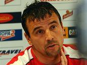 Michal Petrou�, nov� tren�r fotbalist� Slavie