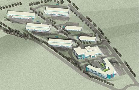 Plán vědecko-technického parku v bývalých kasárnách Klimentov