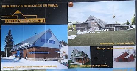 Šumavské projekty a realizace architekta Václava Hodana