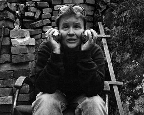 Lidé kolem poesie - spisovatelka Svatava Antošová, 1997