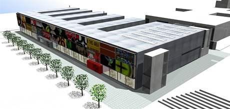 Studie nové budovy Ústavu umění a designu.