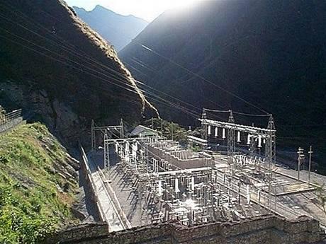 Machu Picchu vodní elektrárna