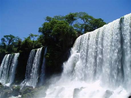 vodopády Brazilie