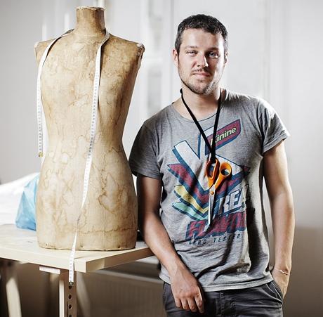 Módní návrhář Jakub Polanka
