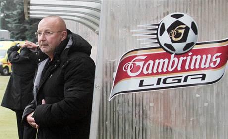 Jaroslav Starka jako trenér na lavičce Příbrami