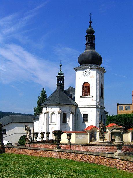 Manětín, kostel sv. Jana Křtitele