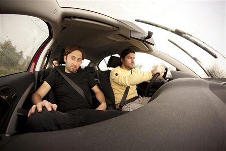 Za volantem