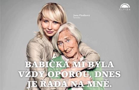 Herečka Jana Plodková o své babičce říká, že jí vždy pomáhala a teď jí to ona chce vrátit. Herečka se připojila k dalším umělcům v kampani Nech moji babičku na pokoji.