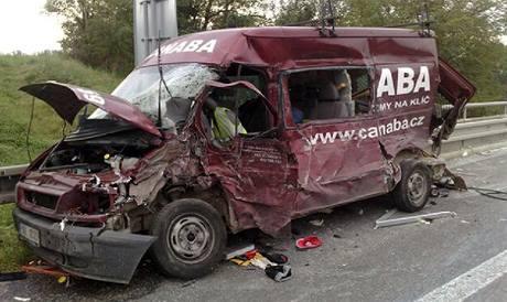 Hromadná nehoda na D8
