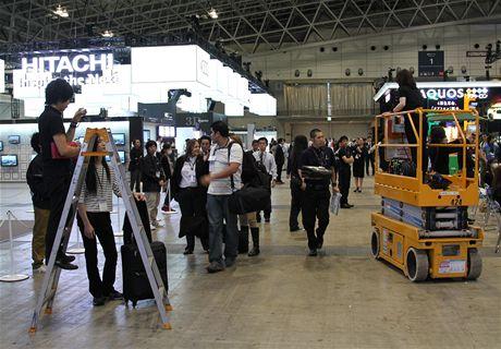 CEATEC 2010 - den před otevřením