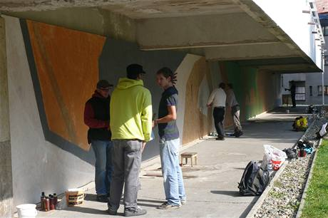 Street art v Mladé Boleslavi