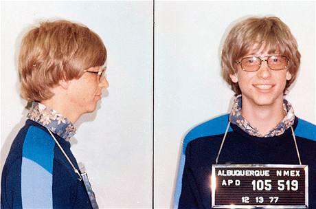 Bill Gates zatčen v roce 1977