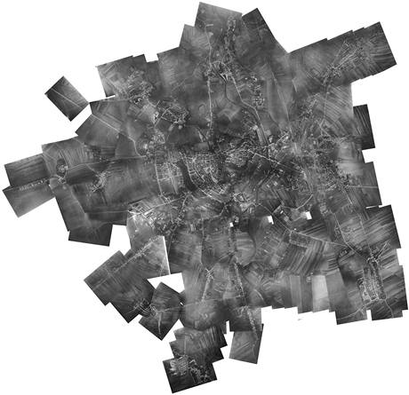 Celková složenina všech pořízených snímků.