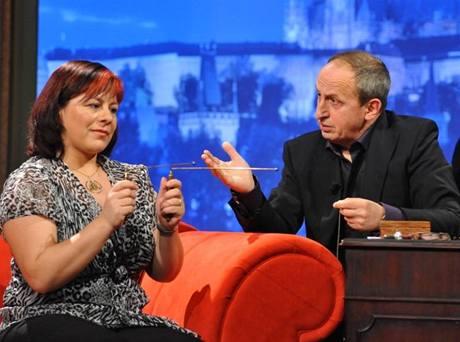 Expertka na komunikaci a ezoteriku Eva Kalivodová Štichová  v Show Jana Krause