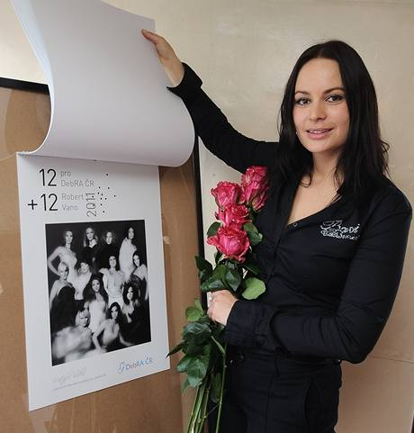 Jitka Čvančarová a charitativní kalendář známých osobností