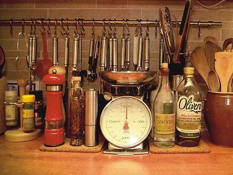 Na celé kuchyni je vidět, že její majitel není jen amatérský kuchař, ale bere gastronomii opravdu vážně