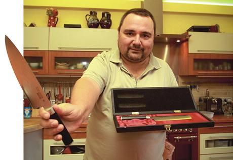 Ivan Vodochodský v sobě nezapře experta na gastronomii
