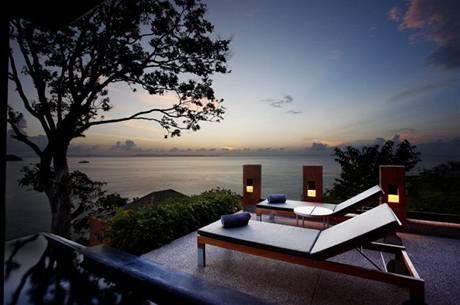 Luxusní vila s bazénem Sri Panwa Villa v Thajsku