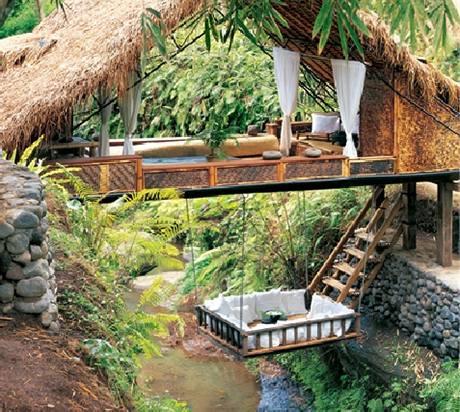 Wellness hotel Panchoran Retreat leží uprostřed džungle v Bali
