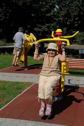 Sport park pro seniory