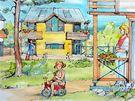 Studie rodinného bydlení, jaké by mělo vzniknout v bývalých kasárnách Klimentov
