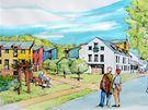 """Studie """"čtvrti pro důchodce"""", která má vzniknout v části bývalých kasáren Klimentov"""
