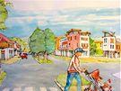 """Studie """"obchodní čtvrti"""", která má vzniknout v části bývalých kasáren Klimentov"""