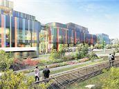 Takto by měla po dokončení vypadat nová olomoucká čtvrť Šantovka.