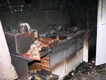 V rodinném domě v Židenicích ve středu ráno hořelo, v jedné z místností domu nalezli hasiči ohořelé tělo jednoho z majitelů.