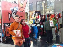 Veletrh Sport Life nabídl i bohatě zastoupené expozice outdoorového oblečení