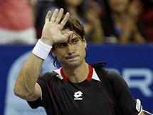 NEPOSTOUPIL. Španělský tenista David Ferrer si v semifinále turnaje v Kuala Lumpur neporadil s Kazachem Golubjovem.