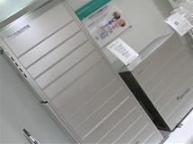 CEATEC 2010 - palivový článek a zásobník na vodu Panasonic