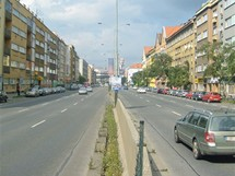 Současný stav ulice 5. května
