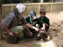V červnu se do zákulisí v pražské zoo dostali žáci prvního stupně