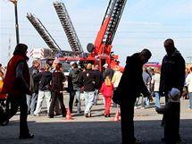 Den otevřených dveří v hasičské stanici v Rychnově nad Kněžnou