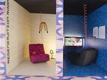 """Místnosti s 3D televizí: Regeneration room, kde se lidé """"dobíjejí"""", aby nespali"""